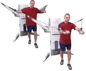 The Standing Cable Chest Press