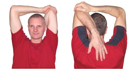 The Overhead Tricep Stretch